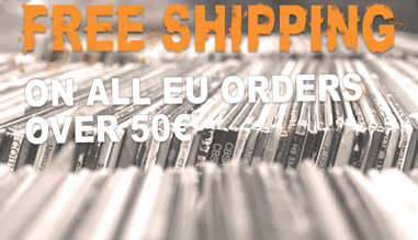Free Shipping for all orders over 50€