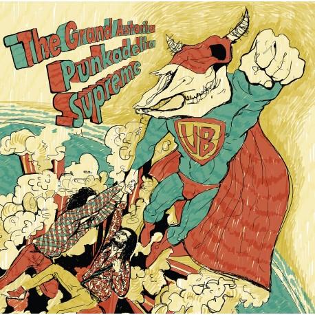 THE GRAND ASTORIA - Punkadelia Supreme - Double LP Vinyl (black)