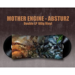 MOTHER ENGINE - ABSTURZ - ReIssue Double LP Gatefold