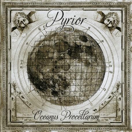 PYRIOR - Oceanus Procellarum LP - 180g green transparent Vinyl