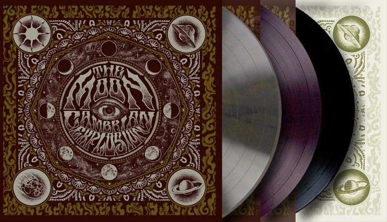 +++ CAMBRIAN EXPLOSION - THE MOON +++ Pre Order Now
